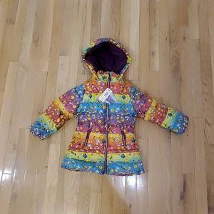 Skechers girl's bubble jacket. Size M (5/6)